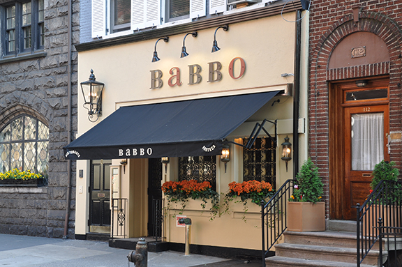 babbo wine list