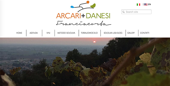 italian winery website