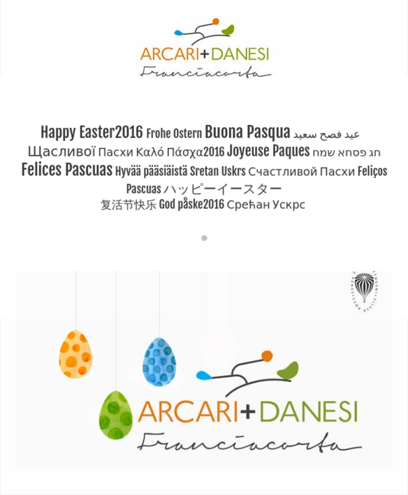 happy easter franciacorta